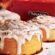 """Large, warm and gooey cinnamon roles from Cinnabon -- do we need to say anymore?About seven in 10 of Cinnabon's recent customers say they crave the chain's baked goods, notably the cinnamon buns. The survey found that customers really enjoy the """"warm"""", """"soft"""" and """"gooey"""" aspects of the buns."""