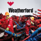 """Finally there is Texas-based Weatherford International . Like Transocean, the company's corporate rating is under review by Moody's (which currently rates it at Ba1).""""While we believe that Weatherford will generate free cash flow and will focus on debt reduction through 2016, it will continue to be modest and not sufficient to offset overall moderate cash flow generation stemming from a prolonged oilfield service cyclical downturn,"""" Gretchen French of Moody's wrote when issuing the October rating.Not everyone is so down on Weatherford. RBC Capital Markets(a unit of Royal Bank of Canada) has an outperform rating on the stock, even if it did recently trim its price target by $2 to $9. Weatherford's $950 million in debt coming due in 2017 is """"manageable,"""" RBC Capital Markets says, but sustained low oil prices will testthe firm'sthesis."""