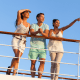 Norwegian Cruise Line , Royal Caribbean , Carnival Cruise Line (Holland America is a subsidiary) andPrincess are expected to be going full steam ahead as the cruise industry is booming.Visits to cruise websites have nearly doubled in the past three years, by 32% year over yearin 2017's first quarter, points out Adobe.