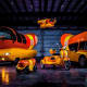 Oscar Mayer introduced the WienerRover in 2015. The remote-controlled vehicle is one seventh the size of the Wienermobile at three-and-half-feet in length. It is meant for off-roading and has a heated compartment to keep the hot dogs toasty for delivery.