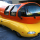 A new version of the Wienermobile hit the road on 2011, but today, there are six Wienermobiles touring the United States. Two are 2016 models, and the other four were introduced in 2012. Fans can ketchup with what its drivers — known as hotdoggers — are doing and where the Wienermobiles are going next on Twitter.