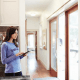 Intel's smart home project seeks to use sensors to track important objects like family documents, medicine prescriptions and smart phones. They would also be able to detect when there is a plumbing problem and use facial recognition to know when residents come home. A smart house could also control the thermostat, lock the doors and windows, close the blinds, turn on and off lights and activate a security system.