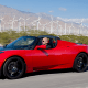 The Roadster was the first highway-legal, serial-production, all-electric car that useslithium-ion battery cells. It was also the first production all-electric car to travel more than 200 miles. The car may mean Tesla isn't done in the sports car market just yet.