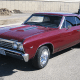 Total national listings: 164Current value: $33,227The Chevelle could go one of two ways: it was either the sensible mid-size with a modest six-cylinder engine or the musclebound SS with a 325-to-435-horsepower road eater of a V8 engine. That sale price represents a mix of all of the above but is also what you'd expect from a car model that was the No. 2 seller in the U.S that year. The base price of $2,759 translates to $16,428 today, which little more than doubles the selling price. The $3,410 price of the SS version would still clear an owner $13,000 today. Again, however, considering that Camaros and Corvettes from this same year regularly fetch close to or well within six figures -- and that nearly 450,000 of these vehicles were made, not including the nearly 200,000 that were branded as the Chevrolet Monte Carlo -- this model year's Chevelle isn't so much a collectible as a modest car that held up.