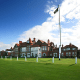 Location: Hoylake, EnglandThe club just hosted an Open in 2014. Tiger Woods shot -18 here in 2006. Thus, the $238 summer weekday singles fee and $277 weekend fee aren't exactly out of nowhere. Visitors are typically limited to Wednesdays and Fridays (though some Monday and Tuesday slots are available), but lunch is included from 12:30 to 2 p.m., with bar snacks offered throughout the day. With the summer's stiff winds and fast, dry greens playing havoc with your score, you'll need some consolation.