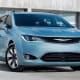 """Starting price: $28,995Combined miles per gallon: 23Cargo capacity: 32.3 cubic feet with all seats up, 140.5 maximumDeath to the Town & Country. Chrysler is really gunning for the whole """"luxury minivan"""" angle here by offering features like leather seats, a three-panel sunroof and noise cancellation. At its core, though, this is still a family hauler: stow-and-go seats that fold into the floor, electronic safety features, handless sliding doors, an available vacuum, 3,600 pounds of towing capacity and a whole lot of interior cargo room leave little wonder why minivan sales have rebounded this year."""