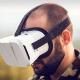 Military personnel used virtual reality to train pilots through flight simulators.