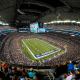 Arlington, TexasStadium cost:$1.2 billionInitial cost to taxpayers: $444 millionThis is one of the few places where covering 37% of the cost is considered a bargain.Arlington, Texas, voters approved a 0.5% increase of the city's sales tax, a 2% hike in the hotel occupancy tax and a 5% boost in car rental tax to cover its bonds. AT&T Stadium was supposed to take 30 years to pay off after it was approved in 2005, but refinancing and additional payments from rising city revenue have shortened the payoff date to 2021 -- a full 14 years early. After voters gave the city their permission that year, Arlington will extend those taxes to cover the cost of a new ballpark for Major League Baseball's Texas Ranger and a surrounding entertainment complex.Ideally, no public money would go into projects like these. But if you're going to borrow millions from the public, it helps to prove that you can pay them back.