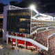 """Santa Clara, Calif.Stadium cost: $1.3 billionInitial cost to taxpayers: $114 million*Super Bowl 50 was played in the San Francisco 49ers' new home in 2015. On paper, the facility was buil with just $114 million in public funding. However, the Santa Clara Stadium Authority -- the public entity charged with paying off stadium costs through stadium revenue -- is on the hook for $933 million. Technically, that isn't """"public funding,"""" because it doesn't require taxpayer money... yet. However, it's a big gamble on the stadium's ability to pay its own debts, especially with the team's on-field fortunes taking a turn for the worse and stadium revenue poised to take a hit if the 49ers go into an extended slump."""