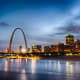 St. Louis generates a return of 12.9%.