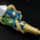 """Price: $1 millionSpeaking of pens, we've mentioned this one before, but it bears repeating just because it's a $1 million pen. It performs the same basic function as any other ink-emitting """"writing instrument,"""" but Montegrappa has already learned how to wring more dollars than ink out of pens branded with Ernest Hemingway, Frank Sinatra, Salvador Dali, Quincy Jones and Sophia Loren's names.For Montegrappa's 100th anniversary, it made 100 Centennial Dragon pens. Of those, 33 are rose gold, 33 are yellow gold and 33 are white gold. Those go for $225,000 a pop. Then there's this one: A cluster of pearls, diamonds, rubies with a golden dragon wrapping itself around it. The 18-karat gold pen is inspired by the Nine Dragon Wall at the Forbidden City in Beijing. Sure, it's an Italian company making a Chinese pen, but did you miss the part where we said China now has 319 billionaires? You give the buying public what it wants."""