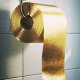 """Price: $1.6 millionWhen the next global depression hits, feel free to point at this particular product as one of the first harbingers of doom. Created by Australian firm (always the Aussies) Toilet Paper Man, this is a decent roll of embossed, three-ply toilet paper with 24-karat gold flakes throughout the roll. Toiler paper man points out that """"As you use the toilet paper 24-karat gold flakes will fall onto the floor and your behind taking you to another level of sophistication."""" The roll comes gift wrapped and is hand-delivered with a bottle of champagne, which we're guessing is a thinly veiled excuse by the manufacturer to see who would order such at thing. The company notes that only one has ever been produced and that they're still waiting on a buyer. Don't worry: We're sure there's someone in Dubai who's waiting for a heavy news day to snatch up the first roll without calling too much attention to themselves."""