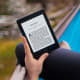The Amazon Kindle makes its debut in 2007. In 2009, Barnes & Noble introduced its own eReader, the Nook. In July 2010, Amazon announces that the sale of Kindle eBooks outnumber hardcovers for the first time. Amazon released its tablet, the Kindle Fire, in 2011.