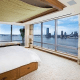 Asking price: $17.5 millionCalling Banks a supermodel or television host oversimplifies the business savvy of someone who would do this. Back in 2009, Battery Park wasn't exactly a hotspot for those not connected to the financial sector. However, Banks paid $10.1 million for this 7,000-square-foot property then, waited for nearby construction and infrastructure projects at the World Trade Center and Fulton Street to wrap up, made some impressive additions and then listed it. Now, this five-bed, eight-bath condo duplex features oak panel flooring, a custom built-in banquette, a fountain in the foyer, a library, a chef's kitchen with a massive center island and floor-to-ceiling wraparound windows with views of the Hudson River and the Statue of Liberty.Those would be great features in themselves, but a home gym, office, and a salon/barbershop with a 360-degree mirrored dressing room just add to the perks. The Master Suite alone has two master bathrooms, a sitting room, a dressing room and a minibar. Finally, the home also has the option of a full staff including a house manager, cook, housekeeping, and personal attendant. None of that counts communal amenities including a the building's yoga studio and saltwater lap pool. Banks owns three other properties on the West Coast and won't be hard-pressed for a place to stay, but if you're looking for a bicoastal getaway in one of the least-popular summer corners of Manhattan, you could certainly do worse.
