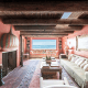 Asking price: $200,000 for a short-term rentalYou're rich when you've purchased a Malibu beach home of your own. You're wealthy when you rent out that beach home to other people for the summer at roughly the price of the average U.S. home. Former Police frontman and longtime adult-contemporary staple Sting is listing this seven-bed, ten-bath estate in Malibu Colony at $200,000 for a short-term rental. This mixed metaphor of a property combines North African rugs and decor, Southwestern adobe finishes and timber framing and Buddhist statuary for a Mediterranean-on-the-Pacific aesthetic. Built in 1927 -- we're guessing not to these specifications -- this house once belonged to Dallas star Larry Hagman and includes a garden with pool and waterfall, multiple family rooms with fireplaces, a sprawling chef's kitchen, seven bedrooms, four en-suite bathrooms and a guest apartment with a wraparound terrace and what looks like a gymnast's gym.The key feature, however, is the patio with its own fireplace, dining area and spa that leads out onto a deck with Malibu beachfront access. Sting has numerous places he can spend a summer, but any renter should feel fortunate that he chooses to spend this one anywhere but Malibu.