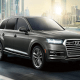 Volkswagen's Audi Q7 comes complete with Audi connect, which connects the vehicle to the Internet via the LTE standard. Passengers can surf the web and send and receive e-mail while using a variety of other applications.