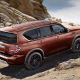 Each 2017 Nissan Armada is outfitted with a standard 8-inch touchscreen infotainment equipped with navigation and features a 13-speaker Bose sound system.