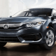 Starting price: $18,740The Civic routinely ranks among the Top 10 cars in the country in sales: its mileage (36.5 miles per gallon combined, including 42 on the highway) and a lovely little facelift for 2016 that includes rain-sensing wipers, a capless fuel tank, heated seats and steering wheel controls make quite a difference.It's a bit snug for more than two, but the Civic's mileage will make it easy to grow into once gas prices rise again. It seats five with a surprising amount of space left over, is coated in airbags and has a new 7-inch touchscreen display that shows fuel efficiency, music info and photos -- as well as Apple Play and Android Auto capability. The utilitarian small sedan also tends to hold up well over the years, making it a gem for used car buyers who aren't just waiting for a larger, far less efficient vehicle to get less expensive.
