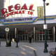 Regal Entertainment Group's shares decreased by 4 cents from Friday to Tuesday's close, less than 1%. Wednesday's close, however, was up by 1%.