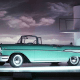 The Chevrolet Bel Air, first produced in 1950, was the most searched for in Colorado and Mississippi.