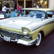 Indiana and New Jersey enthusiasts searched for the Ford Fairlane, first made in 1955, the most.