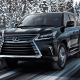 Starting price: $89,880So what if you wanted a Lexus GX that was absolutely monstrous? Well the 5.7-liter, 383-horsepower V8, 7,000 pounds of towing and 6,000 pounds of curb weight ought to be enough for you. Granted, you'll have to lock those differentials manually now, but you'll still have Crawl Controls with turning assistance, height control that raises the suspension up to three inches to accommodate rough roads and terrain selection with rock, rock and dirt, mogul, loose rock, or mud and sand modes. The upsized price reflects the amount of vehicle you're getting, but there are few more plush ways to explore the rugged back country?