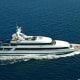 Cost per week: $148,000Welcome to God's yacht.For all of those Baby Boomers and aspiring guitarists who grew up thinking Eric Clapton was God, here's your chance to take in some of that divine aura.Eric Clapton's yacht is typically berthed in Croatia, but makes its way around much of the Northern Mediterranean. The 157-foot yacht was built in 1992 by Kees Cornelissen and is incredibly expansive. The main salon, formal dining room, upper-deck bar, sundeck (with Jacuzzi), rear deck with outdoor dining (with meals provided by the yacht's chef) and an equipped gym make it a movable mediterranean resort.The main-deck master suite has its own mini-spa bathroom and office, which can be converted into a children's bedroom. The VIP suite has its own bathroom with a walk-in shower and stone sinks. There are six guest rooms in all, with room for 12 guests to stay comfortably. Don't expect any sweet morning wake-up solos or any old Yardbirds, Cream or Derek and the Dominos CDs kicking around the state rooms, though -- God doesn't advertise.