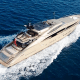"""Cost per week: $148,000 to $170,000We aren't certain if Nicole Kidman still owns this 150-foot Palmer Johnson-built beauty, but that charter price suggests it's a possibility.Built in 2007 and angering Kidman's neighbors in Sydney as early as 2008, Hokulani is inextricably tied to Kidman -- sharing the Hawaiian name Kidman's mother called her after giving birth to her in Hawaii. It means """"heavenly star,"""" but -- by Kidman's own account -- it was also the name of a (tragically deceased) baby elephant born in Honolulu's zoo around the same time as Kidman.Now tooling around the Mediterranean, Hokulani can fit ten guests in five cabins (including a master and two huge VIP cabins) and has features including a sliding glass atrium roof panel that functions like a convertible -- providing sun and shade when it's deemed necessary. The custom swim platform has a self-deploying ladder and a hydraulically powered tender garage to get your ride to shore in and out of the water quickly. The list of amenities is just as impressive: two jet-engine tenders, myriad wetsuits, flotation jackets, masks and snorkels, various towables, an inflatable island, water skis and body boards. That doesn't include the entertainment system in every cabin with music, device hookups, radio, satellite TV, movies, wireless routers and full-time satellite connection for internet access. Even if this isn't Kidman's yacht anymore, she's really loaded it up for the next group of owners and guests."""