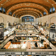 This is Cleveland's oldest public market, in a building constructed in 1912, but it began operating as an outdoor market earlier, in 1840.Today, it features 100 vendors in 45,000 square feet, who sell everything from baked goods, dairy, seafood to ready-to-eat ethnic specialties that reflect the city's diversity.