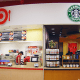 While some Kroger , Target and Walmart stores feature restaurants inside them such as Starbucks or Subway, Sears and Kmart do not have restaurants inside them for shoppers to get a pick me up before they drop.