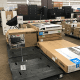 When products are on display, they are often set up in an uninviting way. Many times, however, furniture and other products are sitting in boxes, which does nothing to appeal to shoppers.