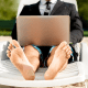 """""""Living the digital nomad lifestyle is a very attractive way to work,"""" said Brie Reynolds, the senior career specialist with the website Remote.co.""""But anyone who does it successfully will tell you it takes a lot of planning, problem-solving, and self-management to make it work."""" Like loneliness, heredigital nomads take an issue well known to every remote worker and turn it up to 11.Whether you work for yourself or just permanently out of the office, you pretty much take control of your own schedule. Unfortunately, far from pitching your tent in Margaritaville, for most successful professionals this makes it harder and harder to hold on to personal time. There's always one more edit, one more e-mail, another comment or a line of code to debug…Putting four corners around your workday is tough for remote workers and doubly so for the digital nomad, especially if you work with people in different time zones who will e-mail at all hours of the day and night. It's a must though, otherwise you'll end up a workaholic with a killer view."""
