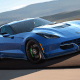 The car from General Motors Co.'s Chevroletbroke the world record for the fastest legal electric car twice, traveling to a top speed of 205.6 mph. It can accelerate to 62 mph in under 3 seconds. The Corvette's range is 130 miles.
