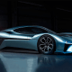 Chinese startup NextEV's Nio EP9 is an electric supercar. The vehicle can reach a top speed of 194 mph and travel from 0 to 62 mph in 2.7 seconds. Nio claims the EP9 can travel 265 miles in a single charge. It holds the fastest time on the 13-mile Nürburgring track in Germany, breaking its own 2016 record in May with a time of6 minutes and 45.9 seconds.