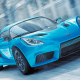 The Detroit Electric SP:01 can travel from 0 to 62 mph in 3.9 seconds. Its top speed is 155 mph, and the car can drive for 180 miles on a single charge.