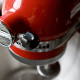 The KitchenAid mixer, the high-end heavy-duty small appliance for serious cooks and gifters of bridal shower presents, has been made inGreenville, Ohio, since 1919. The division is owned by Whirpool .