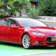 The all-electric TeslaModel S, which goes for about $50,000, is built entirely in the U.S. at its Freemont, Calif., plant.