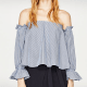 $29.90 - not on sale. Zara typically only has a few sales a year because itsclothing is considered moderately to low priced.  100% cotton