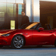 Starting price: $24,915Miles per gallon equivalent: 27 city, 36 highway, 31.5 combinedThe Miata is every bit the same powerhouse as the Porsche Boxster it competes against.O.K., so the engine is is a little pokier at 155-horsepower from a 2-liter, 4-cylinder -- no matter which trim you pay for. That said, the two cars have similar acceleration (zero to 60 in 6.5 seconds for the Porsche, seven seconds for the Miata), similar ratings from Consumer Reports (90 for Porsche, 89 for Mazda) and similar customer satisfaction. The Miata's available hardtop that kicks the starting price up above $27,000 -- still far less than the Boxster's $52,000 starting price -- only closes the gap further.Redesigned last year with lower ground clearance than ever and with musclebound, stingray-style curves, the Miata is also 148 pounds lighter. That's great for its mileage and for the addition of perks like a Mazda Connect touchscreen and communications system, but it also makes that engine feel almost Porsche fast.