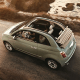 Starting price: $16,490Miles per gallon equivalent: 31 city, 40 highway, 35.5 combinedMaking every Fiat 500 available as a convertible is perhaps the best thing fiat has ever done. The cinquecento measures a scant 140 inches long and 64 inches wide, gives parallel parkers a 30.6-inch turning radius for squeezing into tight spots and finds room for 10 cubic feet of trunk space -- nearly double that of the Mini.The retractable, soft top, power outlets, five cupholders, cruise control, power windows and 40 miles-per-gallon highway mileage -- not to mention 31 mpg in the city -- can't go where the Jeep Wrangler does, but they're just as accessible.