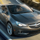 """Starting price: $33,065Miles per gallon: 20 city, 27 highway, 23.5 mpgWhat if you could have a car with luxury amenities but also mid-range power? That's the question GM's Buick brand spends each year answering, but this time it's applied that formula to a convertible. This 1.6-liter 200-horsepower four-seater boasts about """"turbocharged performance,"""" but should maybe focus on the insulated soft top that opens in 17 seconds at up to 31 miles per hour. Features like the Buick IntelliLink with a 7-inch-diagonal color touch screen -- featuring text alerts and Siri Eyes Free for Apple phones with an iOS 6 or newer operating system -- OnStar 4G LTE with Wi-Fi hotspot (includes three-month/3GB data trial), available navigation, available premium audio, rear parking assist, remote starter, leather seats, leather-wrapped steering wheel, dual-zone climate control and front and rear power outlets are the big selling points here. Especially considering that trunk space shrinks from 13.4 cubic feet to 9.8 with the top down."""