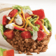 In April, Yum's Taco Bell began testing three new menu items in certain markets - the Loaded Taco Burrito, a hybrid of its original taco and burrito; theMexican Crispy Chicken Pizza, being tested in Ohio, is a fried-chicken take on its original beef Mexican Pizza; and the Naked Breakfast Taco, being tested in Flint, Mich., is a tortilla lined with an egg and filled with potatoes, sausage or bacon and cheese.Plus, from March to April this year, Taco Bell tested, in certain states, theDoritos Quesalupa Crunch (a quesalupa is a taco in a cheesy shell), theCaesar Crunchwrap and theChicken Enchilada Burrito.