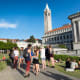 This affluent city situated across the bay from San Francisco is highly walkable, and home to the Cal Berkeley campus, shown here.