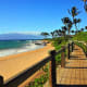 Wailea Beach offers breathtaking views of the Maui coast.