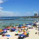 Located on Santa Rosa Island, Pensacola Beach is a popular spot for family vacations.