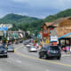 In Gatlinburg itself, you can ride an elevator 342 feet to the top of the Gatlinburg Space Needle for more stunning views of the mountains, or take the kids to the amusement center for rides and games.