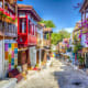Kas is known as Turkey's premier scuba diving destination, but it also has ancient ruins, oceanside restaurants, and bougainvillea-covered houses with Ottoman-style balconies.