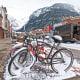 colorado, telluride, bike, winter