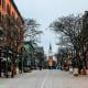 Vermont, Burlington, main street