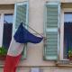 france, lockdown, flag, covid, window
